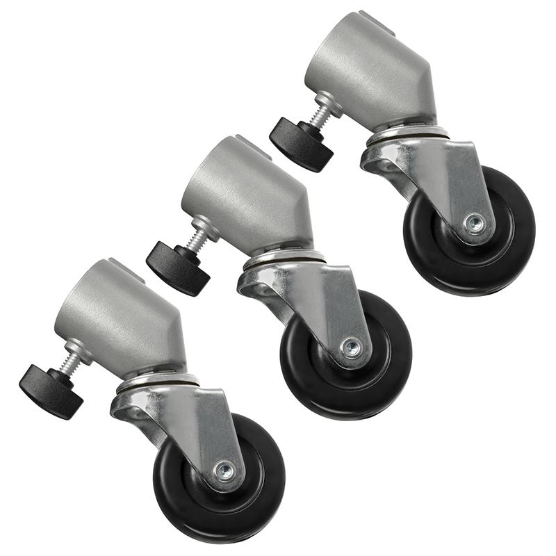 Bánh Xe Lăn Chân Đèn Caster Wheel - Hàng Nhập Khẩu