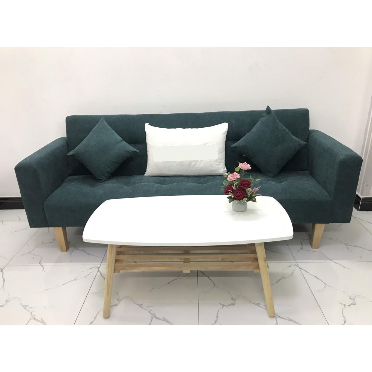 Bộ ghế sofa giường sofa bed tay vịn phòng khách linco09 sopha salon