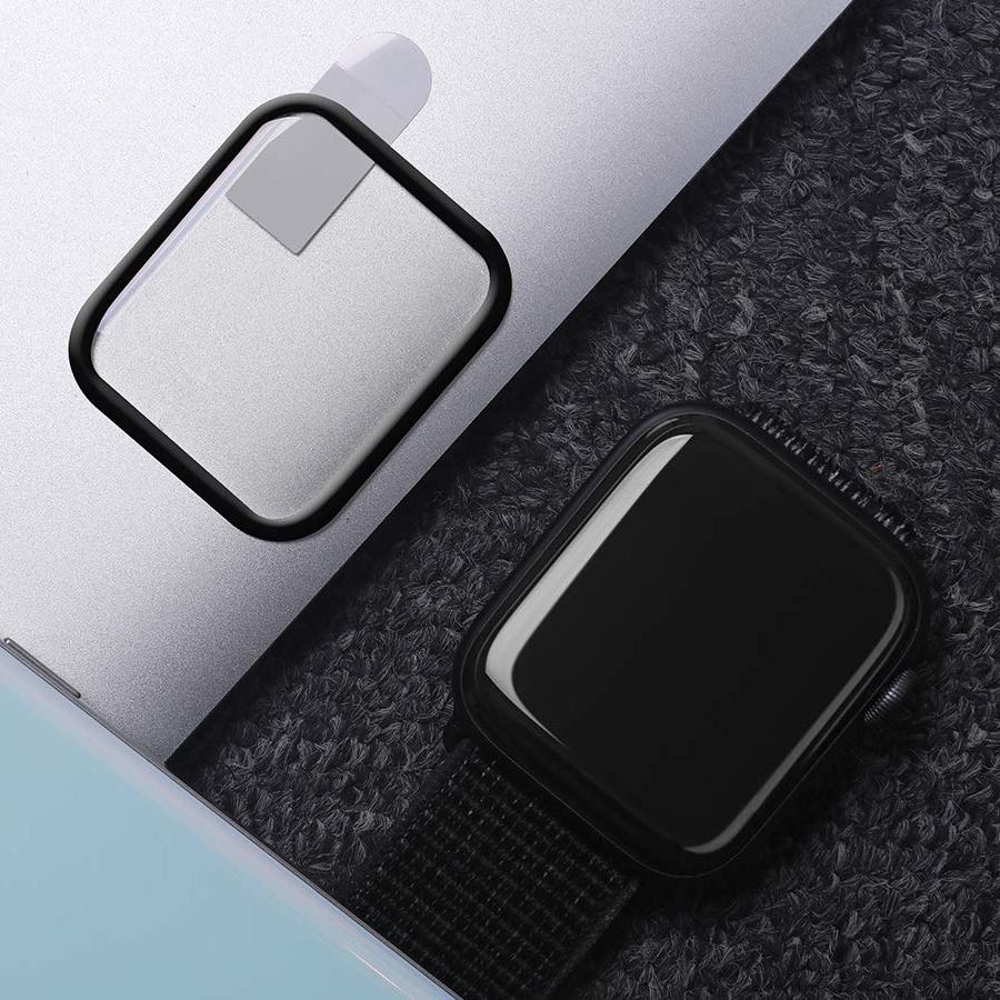 Miếng dán kính cường lực full màn hình cong 3D AW+ cho Apple Watch