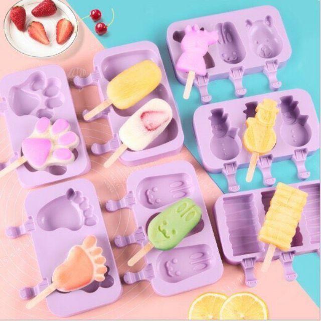 COMBO Máy Đánh Trứng Cầm Tay 7 Cấp Độ 180W Kèm 4 Que Đánh Trứng - Tặng 1 khuôn làm kem silicon