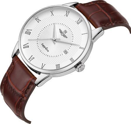 Đồng Hồ Nam SRwatch SG1057.4102TE - Sapphire - 40mm - Quartz (Pin) - Dây da