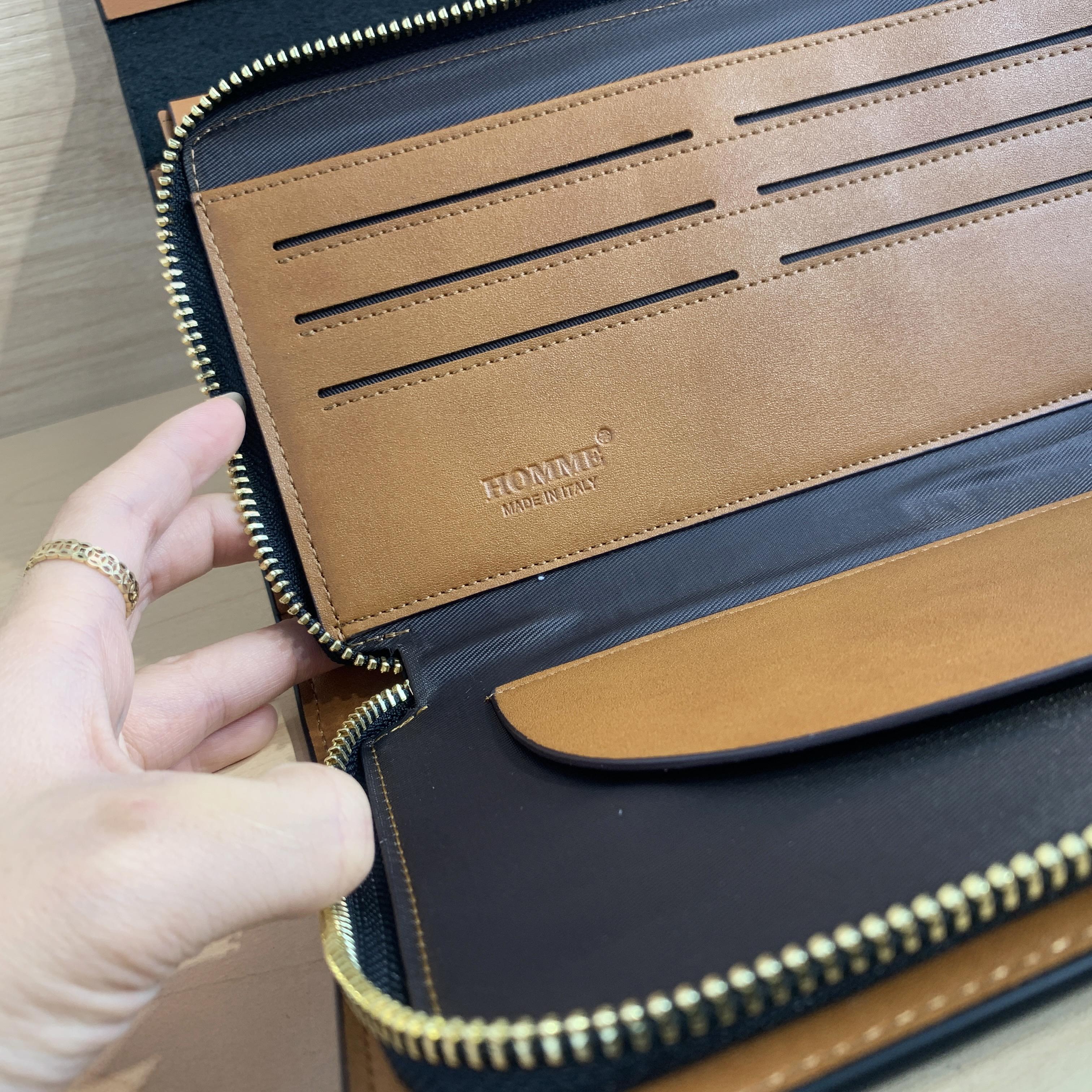 Túi Homme Hamburg - Urban Leather Clutch Bag