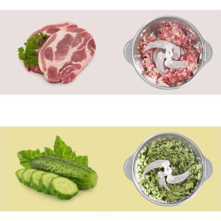 Máy xay thịt mini nhỏ gọn dễ sử dụng