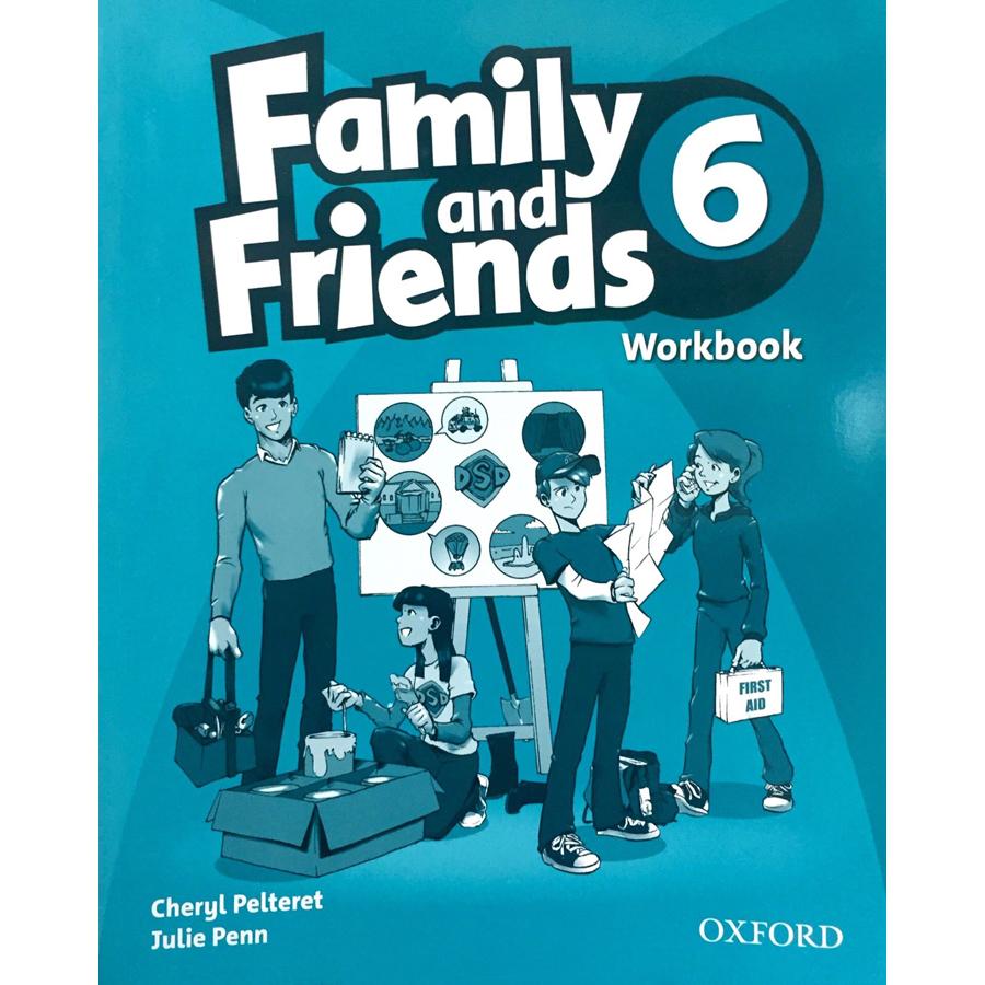 Family and Friends 6 Workbook British English Edition - 23806768 , 9780194803038 , 62_23429 , 100000 , Family-and-Friends-6-Workbook-British-English-Edition-62_23429 , tiki.vn , Family and Friends 6 Workbook British English Edition