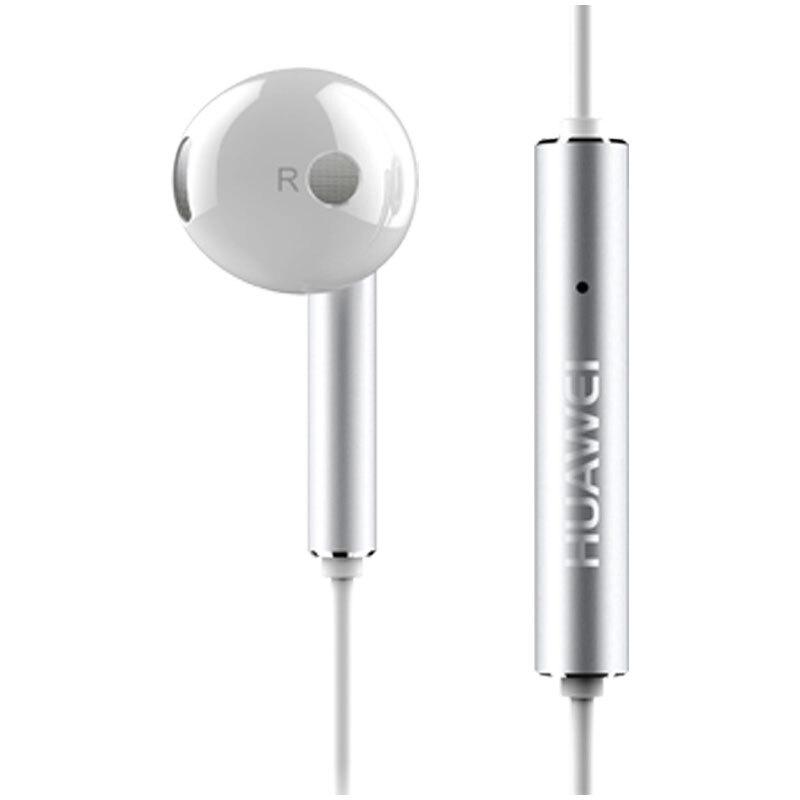 Tai Nghe Huawei AM116 với giắc cắm 3.5mm Microphone âm thanh nổi và nút chỉnh âm lượng, thân kim loại