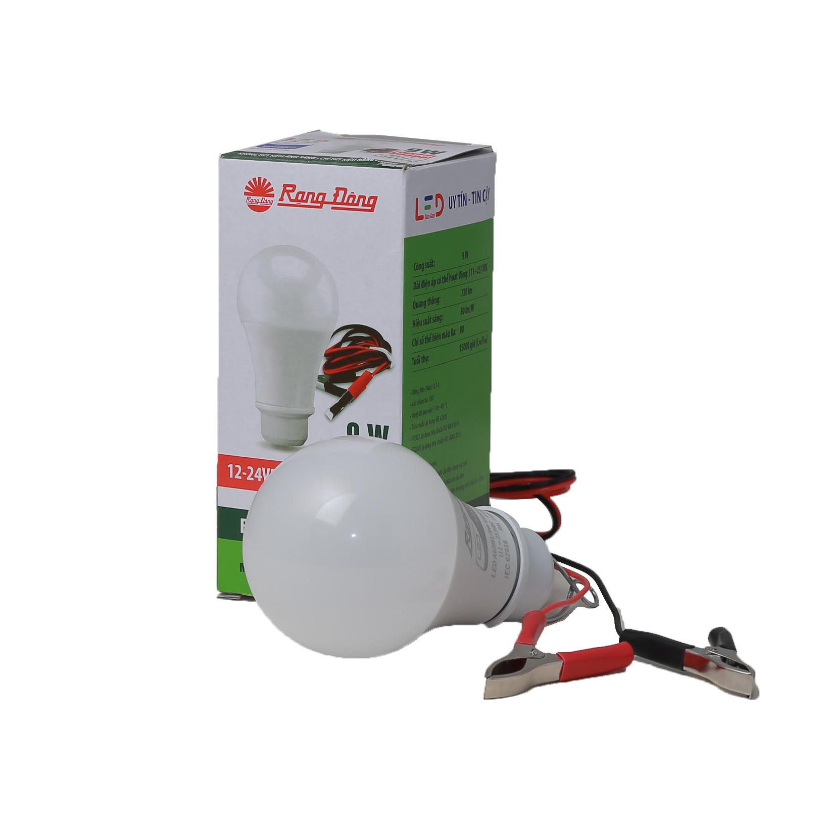 Bóng đèn (LED A60N1 12-24VDC/9W) 6500K SS