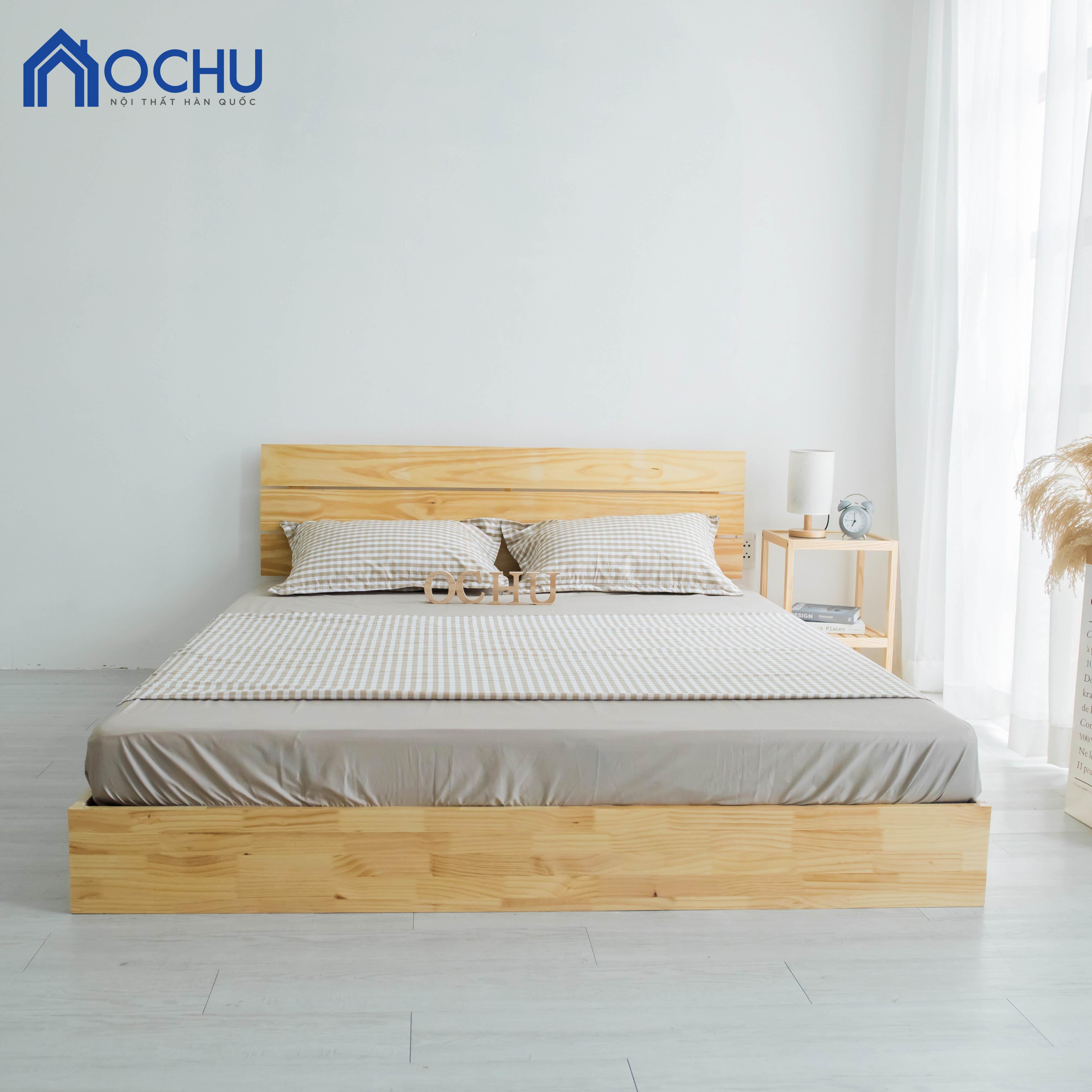 Giường Ngủ Gỗ Thông OCHU - Winnie Bed - Natural