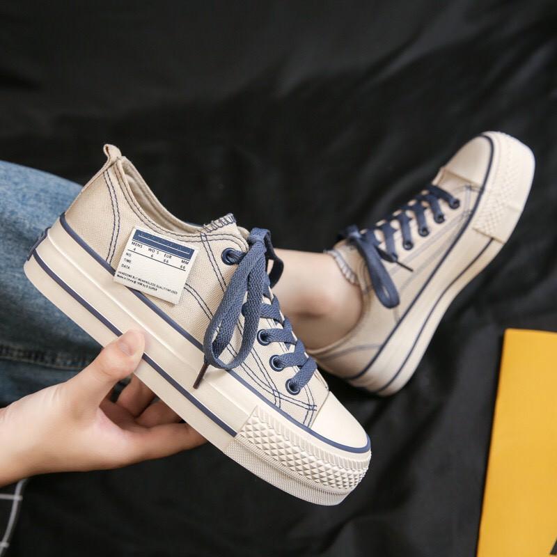 Giày thể thao nữ độn đế 5cm cao hot trend 2021 X66