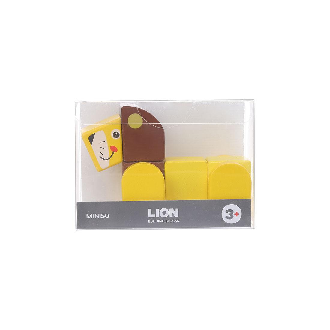 Đồ chơi gỗ Miniso Animal - Hàng chính hãng