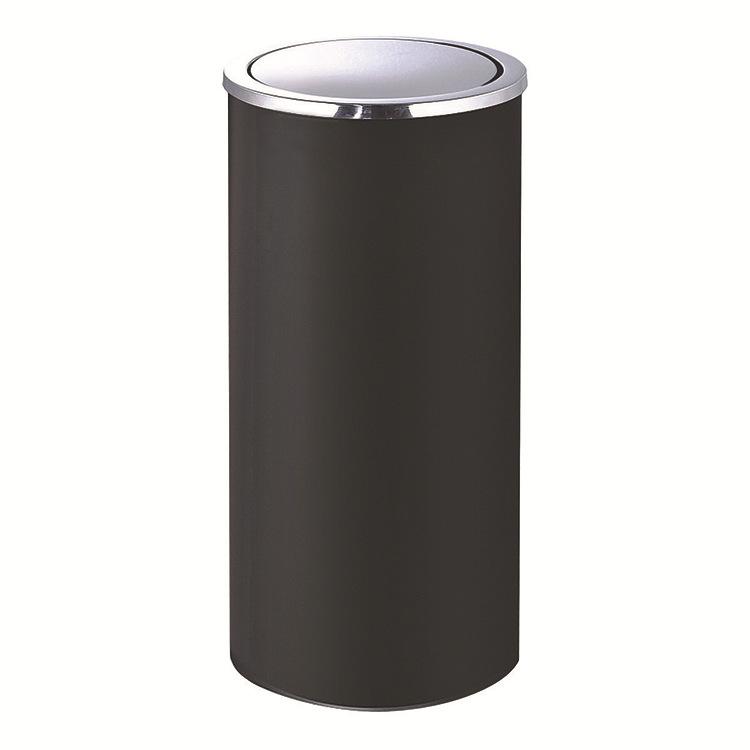 Thùng rác inox nắp lật tròn loại lớn, Mã GPX-110C, Thương hiệu Chinasouth, Kích thước Ф305*645mm, Chất liệu dày 0.7mm