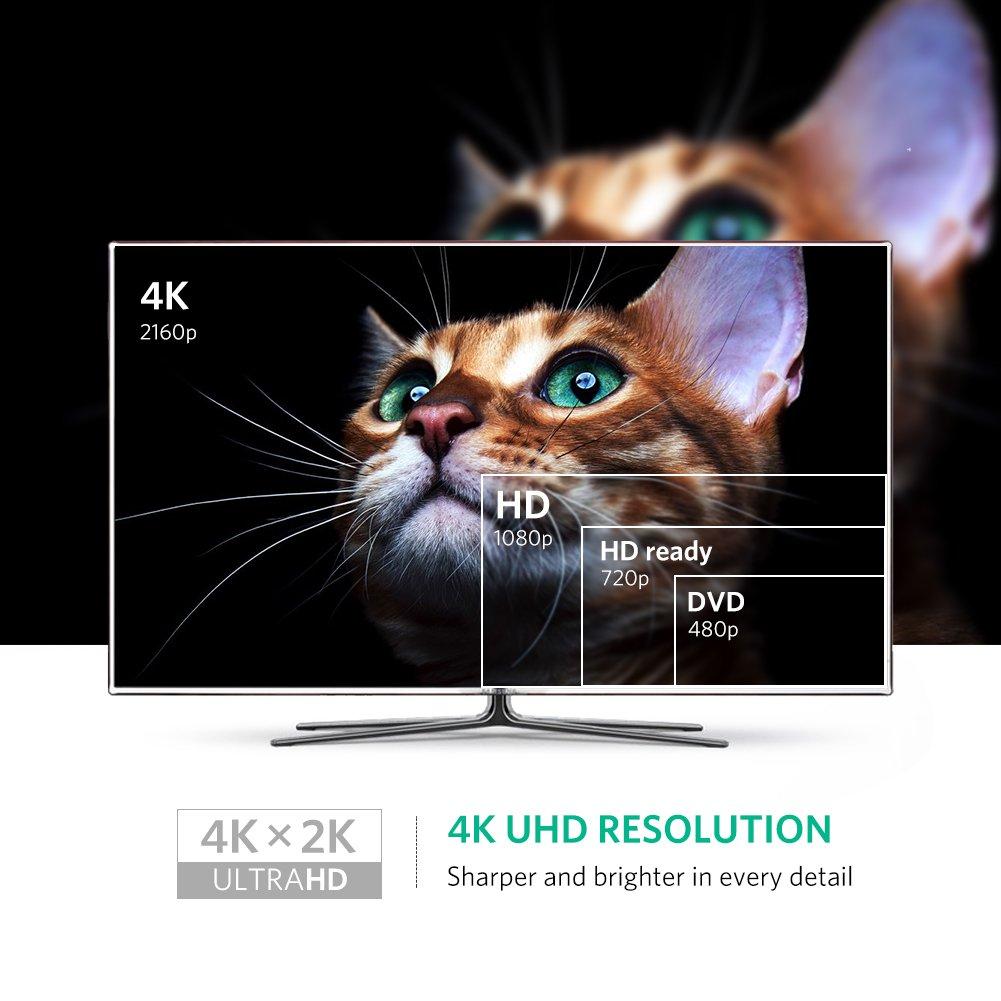 Cáp chuyển Mini Displayport to HDMI (âm) Ugreen 40361 hỗ trợ 4k - Hàng Chính Hãng