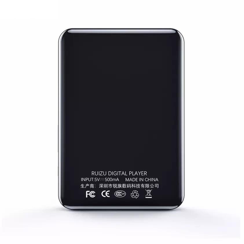 Máy Nghe Nhạc MP3 Màn Hình Cảm Ứng 2.8 inch Bluetooth 5.0 Ruizu D66 Bộ Nhớ 16GB - Hàng Chính Hãng