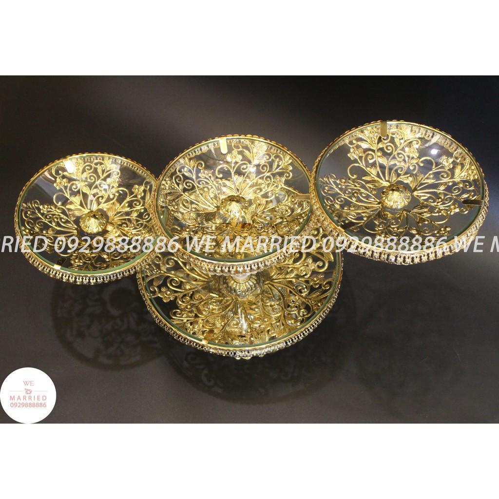 Khay Bánh Hoa 4 Tầng - MJC025