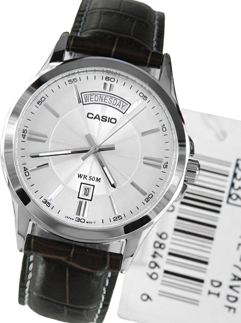 Đồng hồ nam dây da Casio MTP-1381L-7AVDF