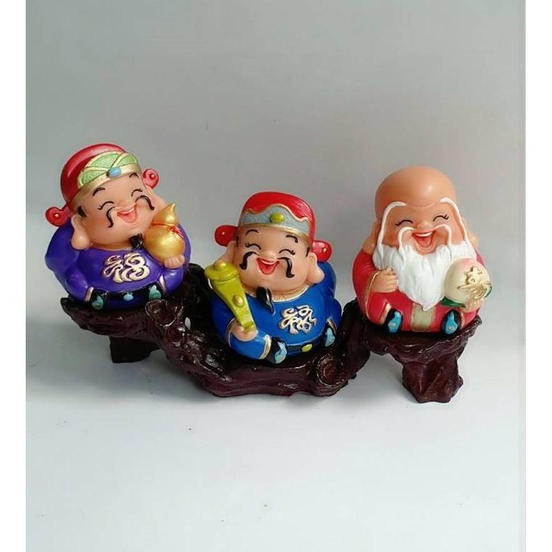 bộ 3 ông phúc lộc thọ đế ngang 3 ô