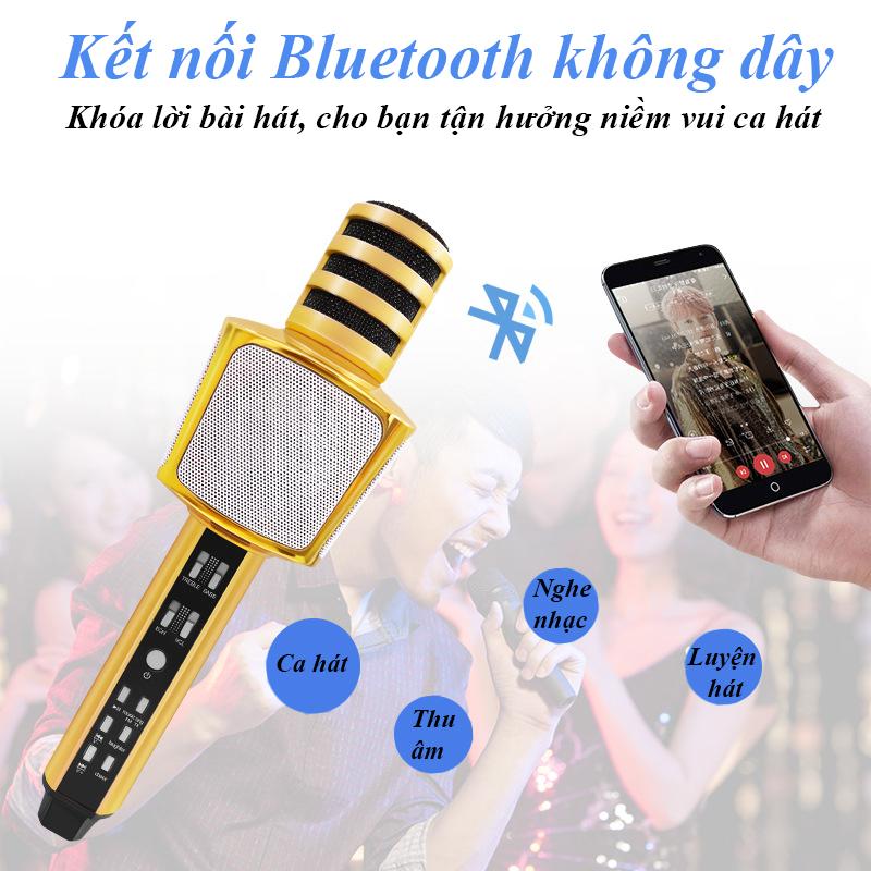 Micro SD17 Karaoke có Loa Bluetooth