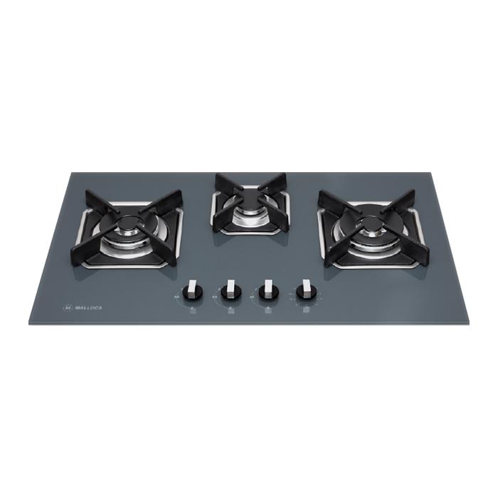 Bếp 3 Gas Âm Malloca AS 9603 DG - Hàng Chính Hãng