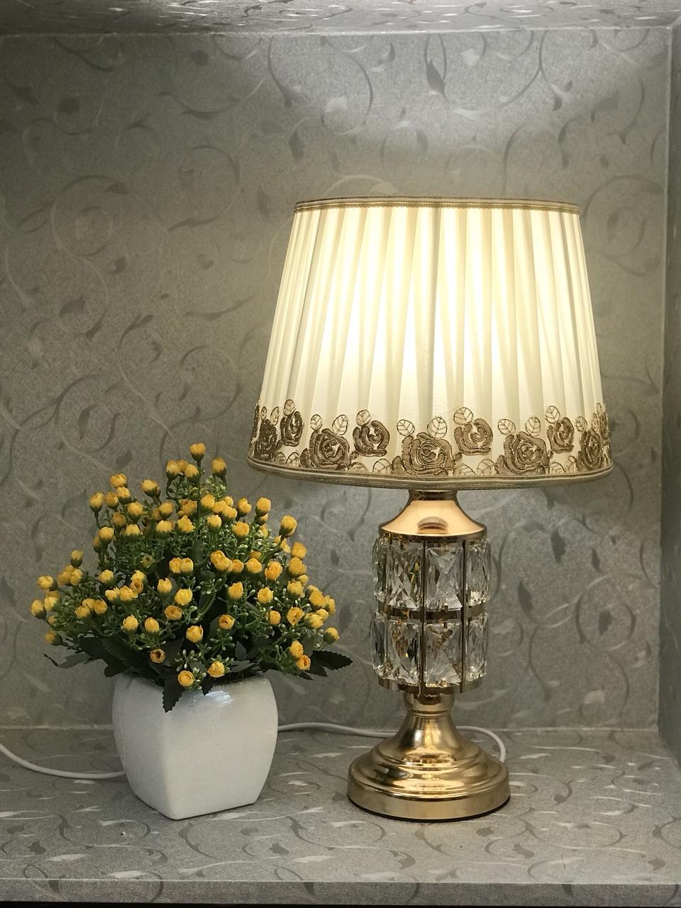 Đèn ngủ -đèn ngủ để bàn pha lê - đèn trang trí phòng ngủ MB8659