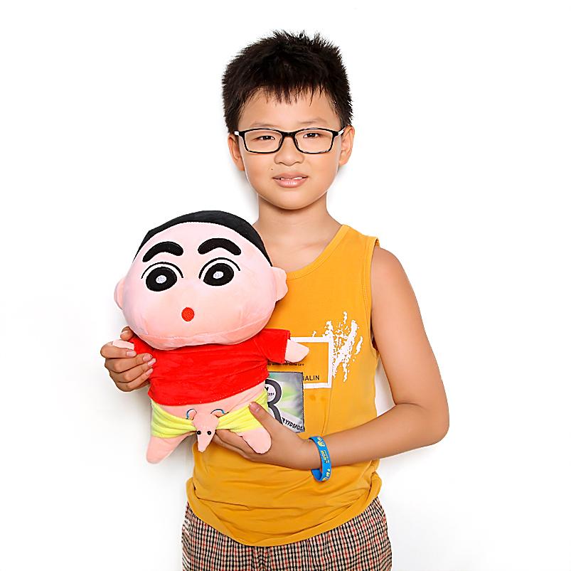 Gấu bông Shin cậu bé bút chì size 25cm