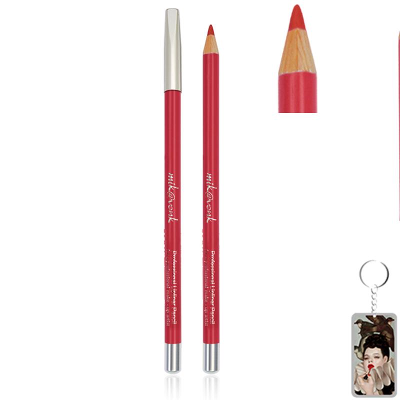 Chì Kẻ Môi Quyến Rũ Mik@Vonk Professional Lipliner Pencil Hàn Quốc tặng kèm móc khoá 1 cây