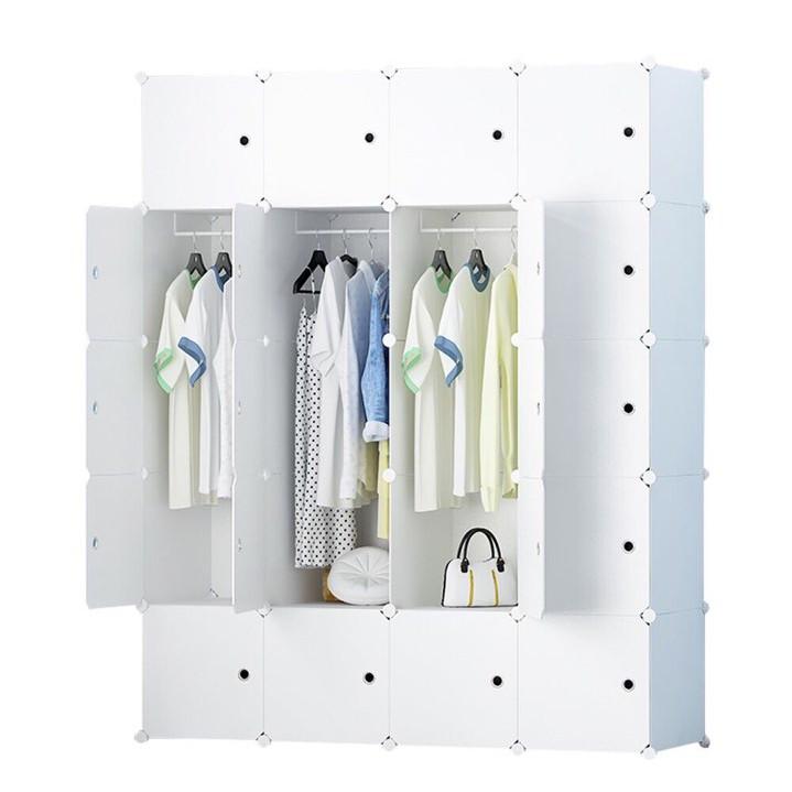 Tủ Nhựa Lắp Ghép Đa Năng 20 ô ( 147*183*47 cm)