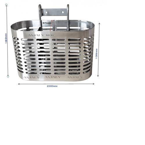 Ống đũa 3 ngăn  Inox 304- OD05