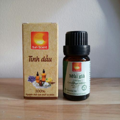Tinh dầu Mùi Già Sun Scent - Coriander Essential Oil 5ml