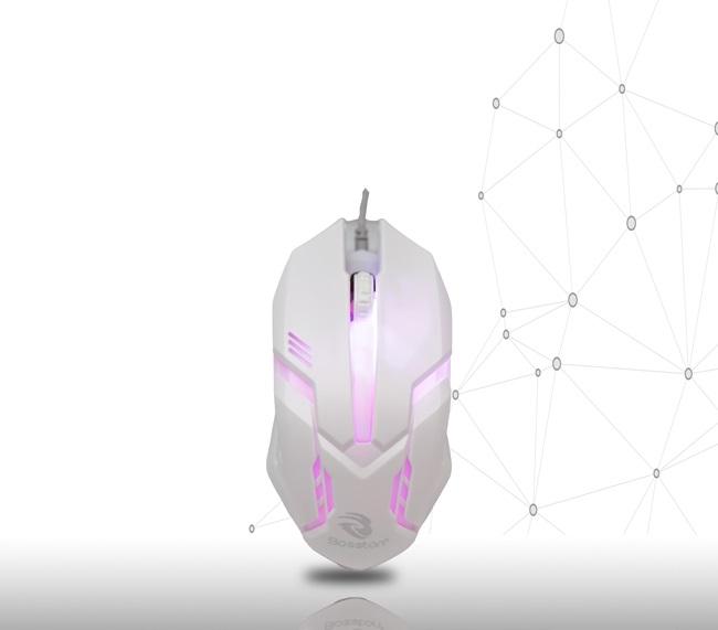 Chuột có dây USB Bosston LED M15 ( giao màu ngẫu nhiên)HN - Hàng nhập khẩu