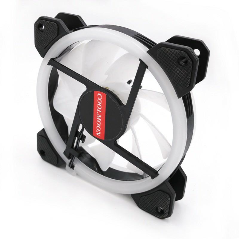 Bộ 2 Fan + Khiển Coolmoon RGB V2 - Hàng nhập khẩu