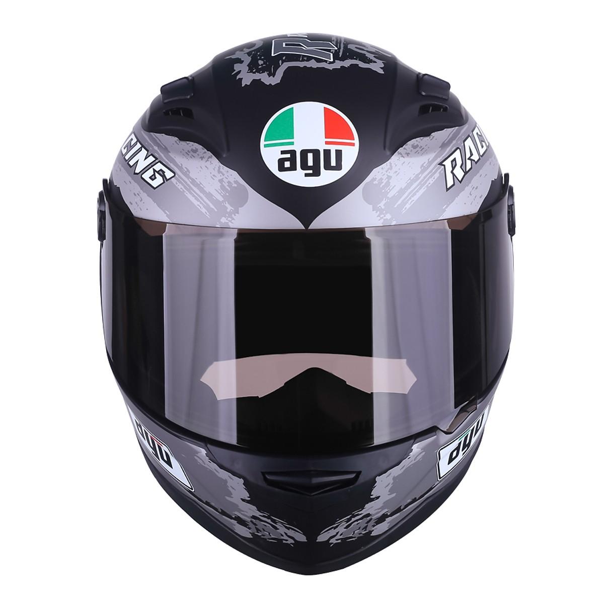Nón bảo hiểm Fullface Racing 15 + Tặng kèm túi đựng nón thương hiệu
