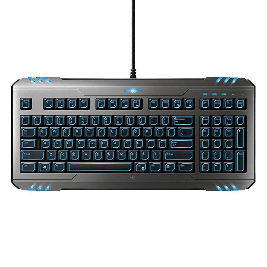Bàn Phím Game Starcraft Li Razer Marauder Gaming Keyboard ( Đen) - Hàng Nhập Khẩu