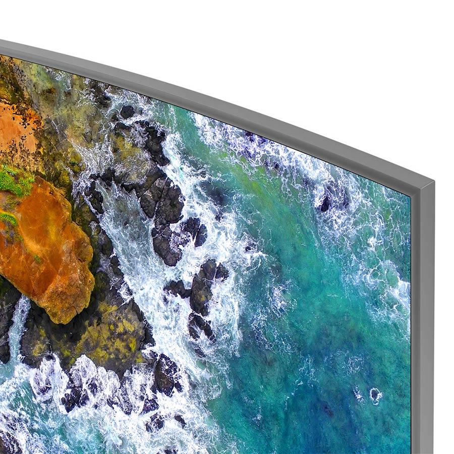 Smart Tivi Màn Hình Cong Samsung 55 inch UHD 4K UA55NU7500KXXV - Hàng Chính Hãng