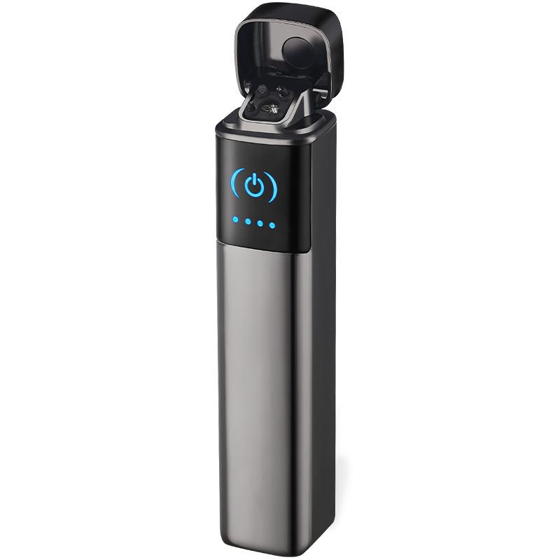 Hột Quẹt Bật Lửa Sạc Điện USB 2 Tia Lửa Điện, Cảm Ứng Vân Tay FOCUS 029 Sang Trọng (màu ngẫu nhiên)