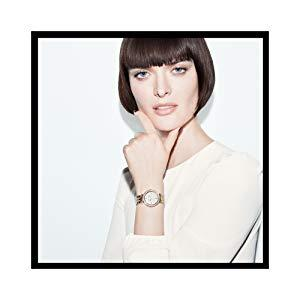 Anne Klein Women s AK 3290LPST Gold-Tone Bangle Watch and Swarovski Crystal Accented Bracelet Set 3