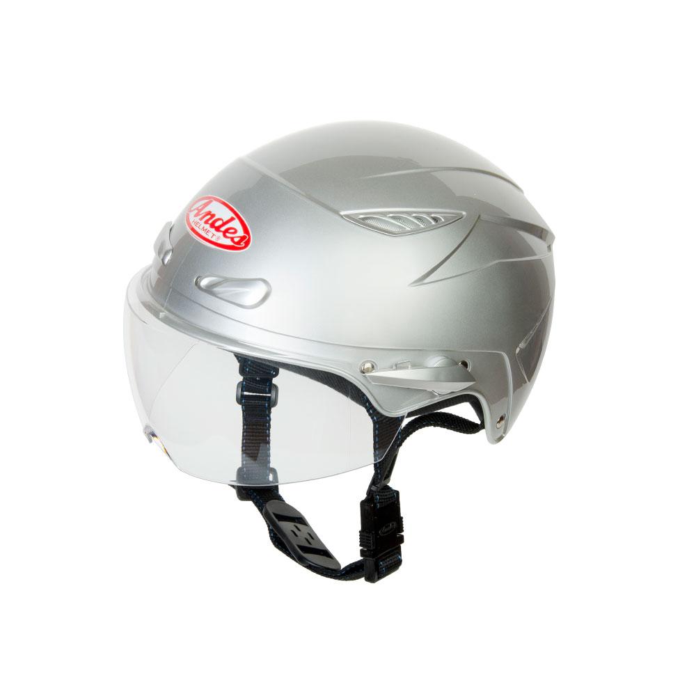 Mũ Bảo Hiểm Andes Nửa Đầu Có Kính - 3S126DB Bóng
