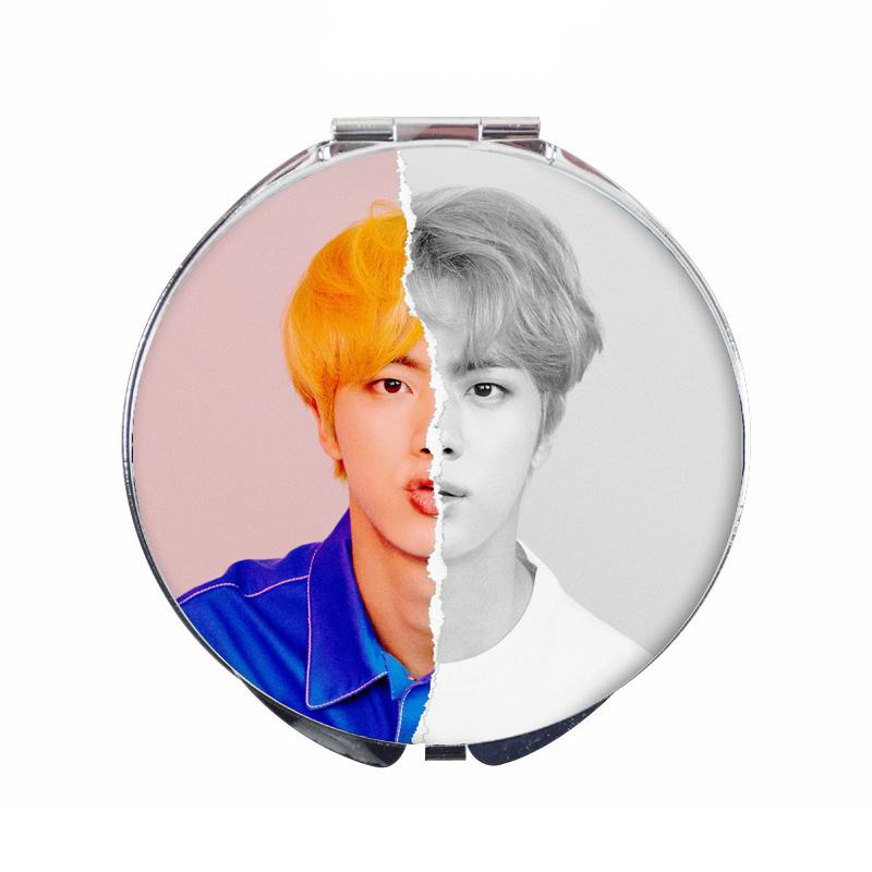Gương mini JIN BTS - gương tròn hai mặt