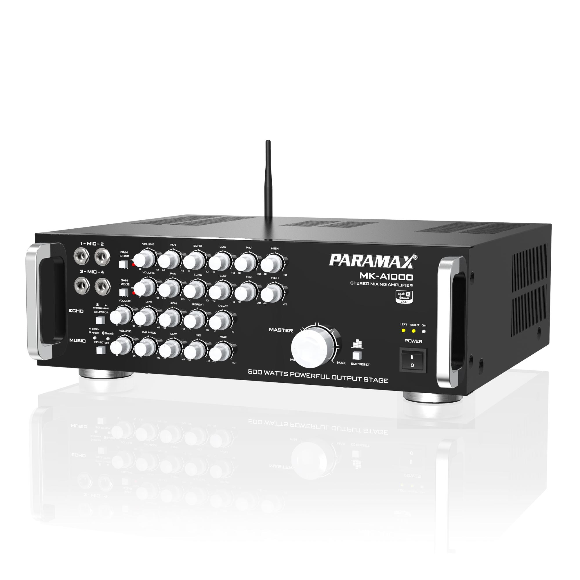 Amply Bluetooth Paramax MK-A1000 - Hàng chính hãng