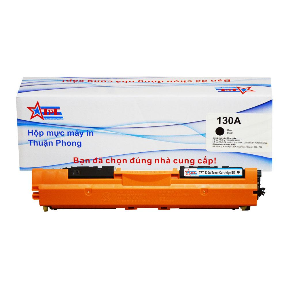 Hộp mực Thuận Phong 130A dùng cho máy in màu HP LJ PRO M176/ 177/ CP1025/ Canon LBP 7010C Series- Hàng Chính Hãng
