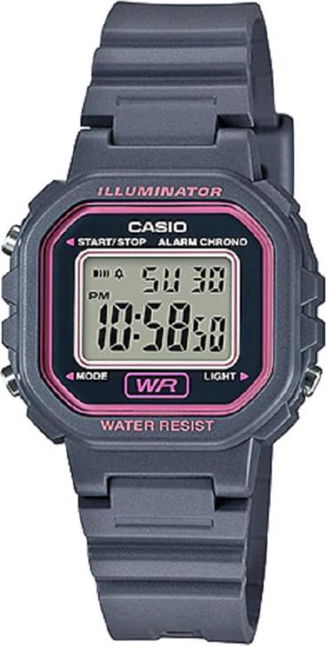 Đồng hồ Casio nữ dây nhựa LA-20WH-8ADF (30mm)