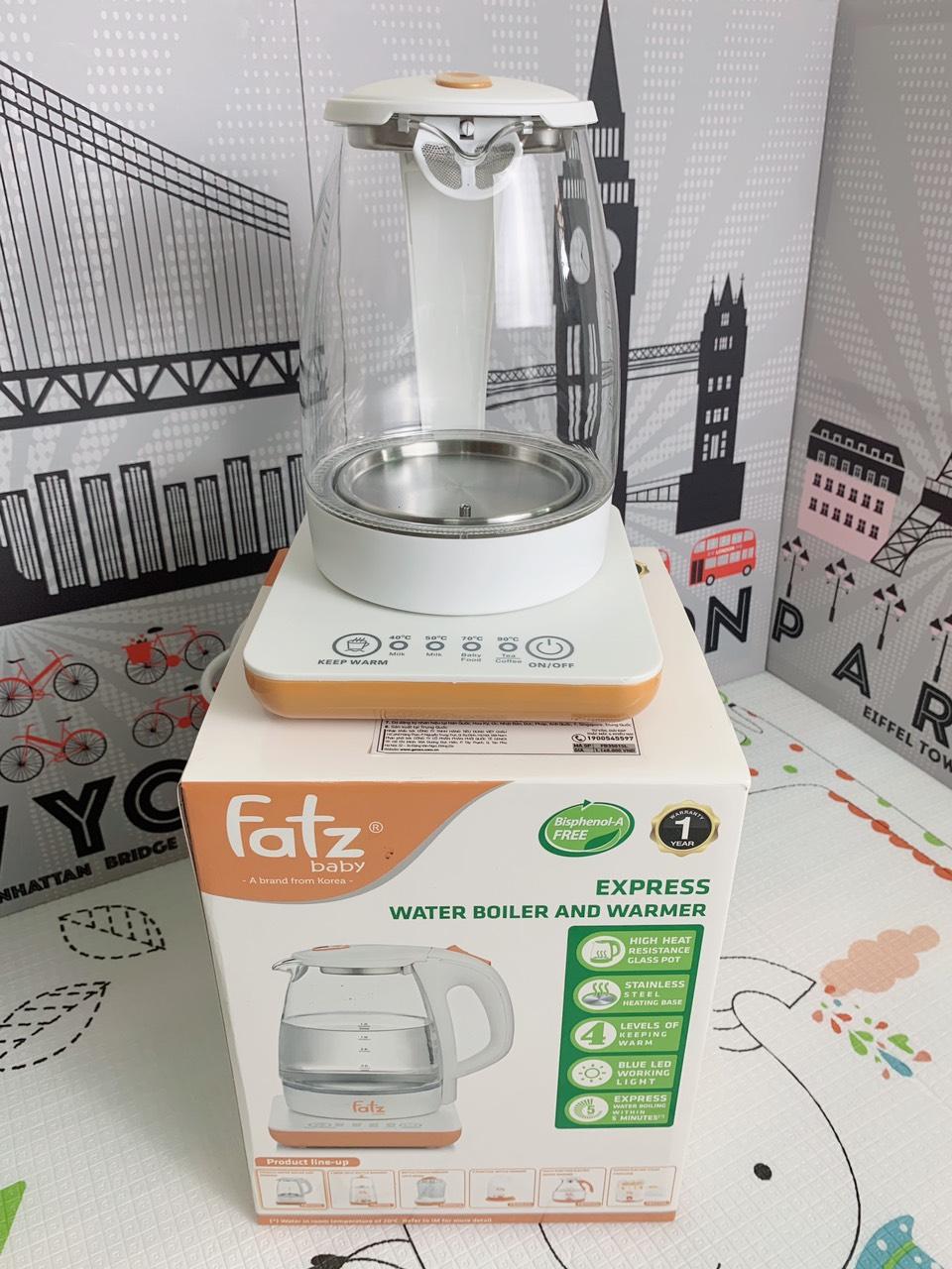 Máy đun & hâm nước siêu tốc Fatz Baby FB3501SL CHÍNH HÃNG