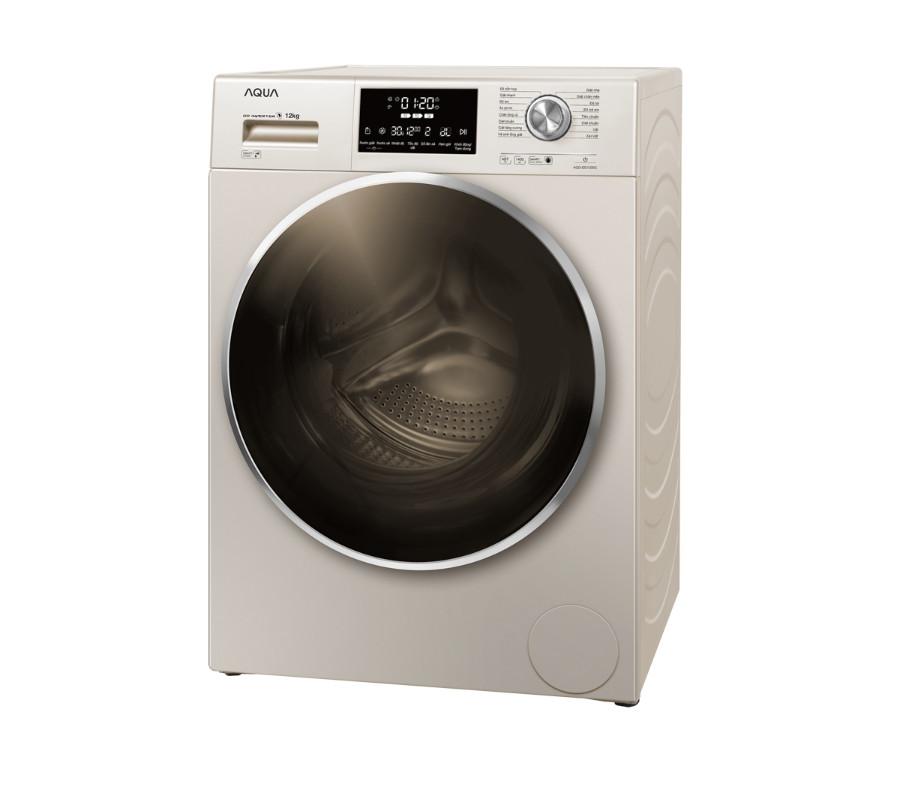 Máy giặt AQUA AQD-DD1200C N2, 12kg, Inverter ( HÀNG CHÍNH HÃNG)