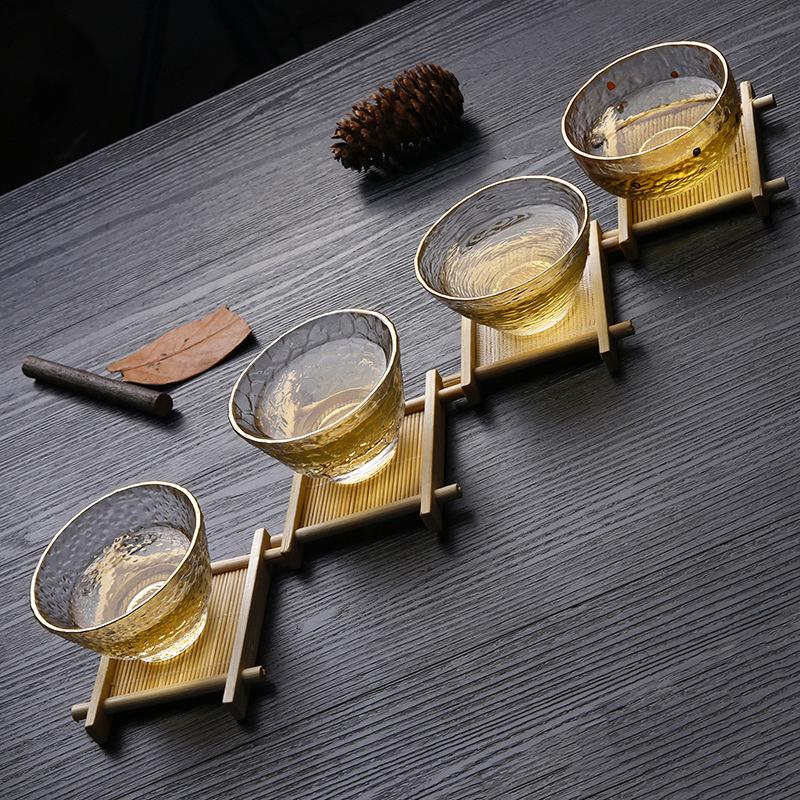 Chén uống trà thủy tinh 014