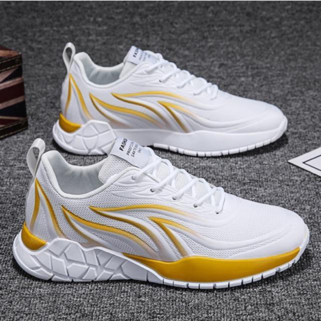 Giày thể thao nam, giày sneakers nam lửa vàng siêu nhẹ Z288
