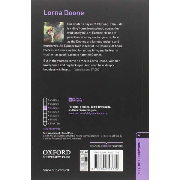 Oxford Bookworms Library (3 Ed.) 4: Lorna Doone MP3 Pack
