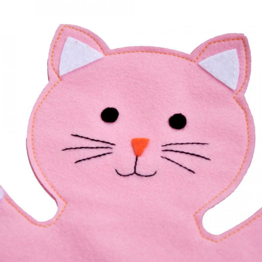 Rối Bàn Tay Latin Handmade Mèo Hồng LT558