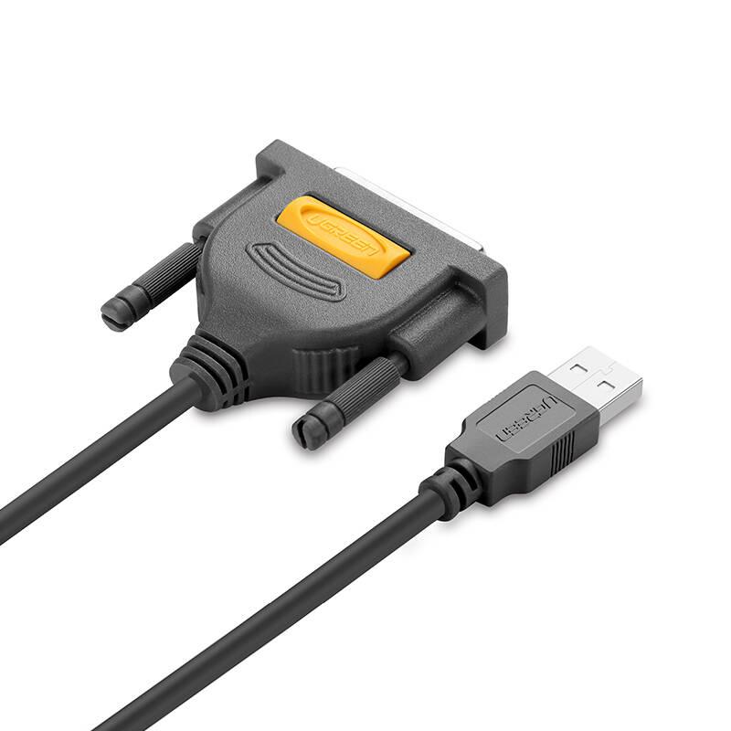 Dây máy in USB sang DB25 Parallet dài 1.8m UGREEN 20224 - Hàng chính hãng
