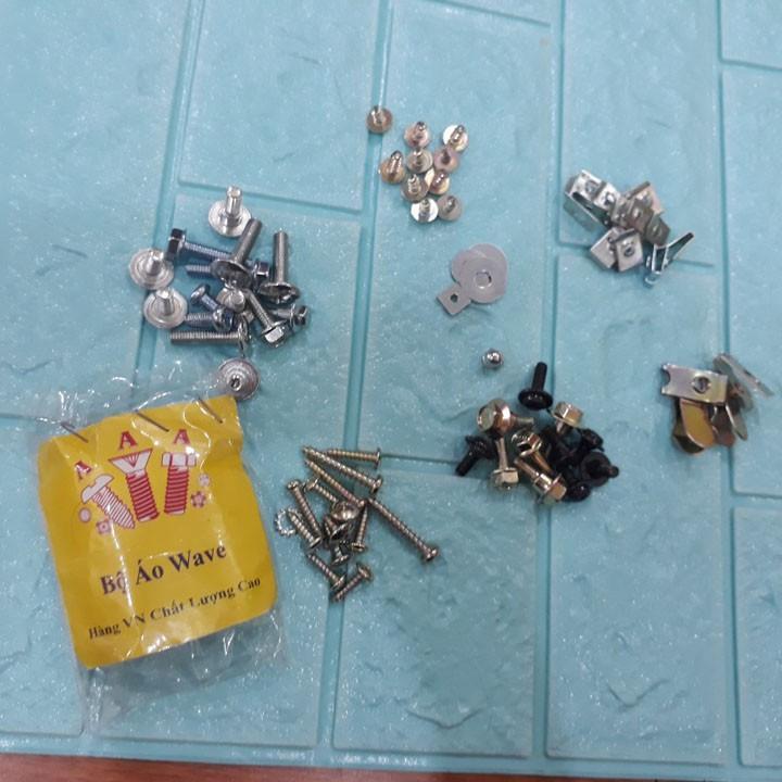 Bộ ốc vỏ nhựa dành cho các xe Wave nhỏ,  xe Wave 110, xe Wave TQ