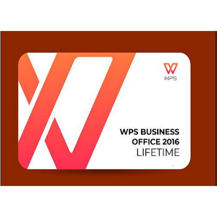 Phần mềm WPS Office 2016 Professional (Lifetime) - Hàng chính hãng