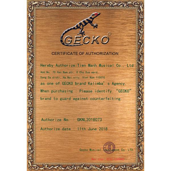 Đàn Kalimba 17 Phím Gỗ Koa Gecko K17KEQ Kèm Hộp Đựng (Có EQ)