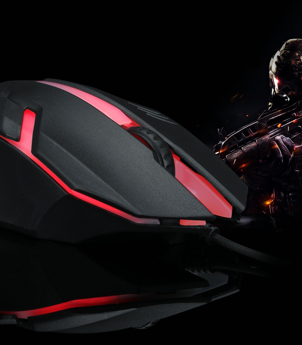 Chuột máy tính OP20 Gaming mouse PF168